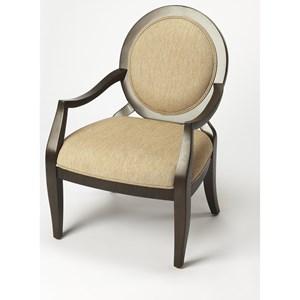 Gretchen Merlot Accent Chair