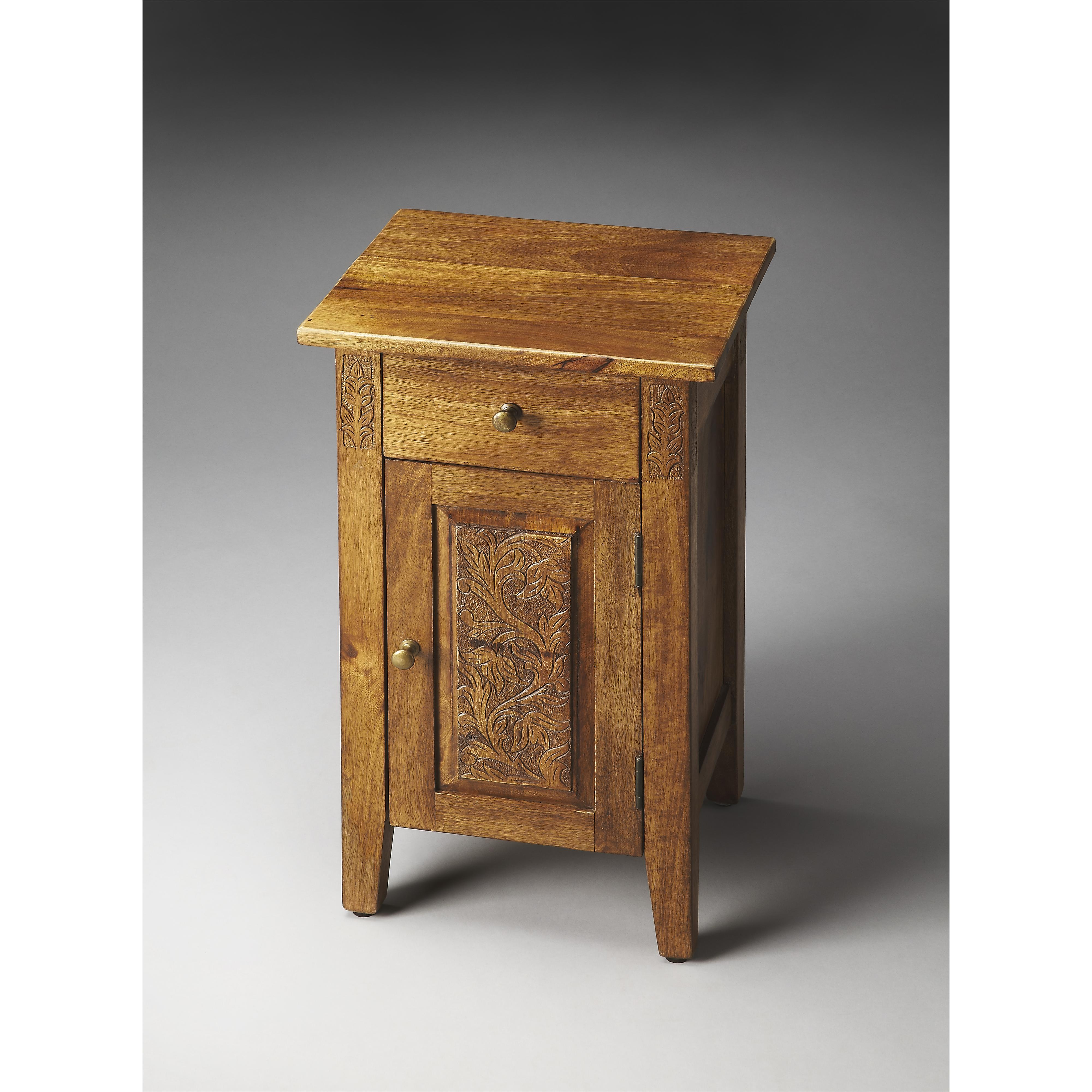 Artifacts Chairside Chest by Butler Specialty Company at Mueller Furniture