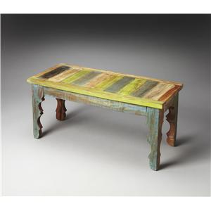 Butler Specialty Company Artifacts Bench