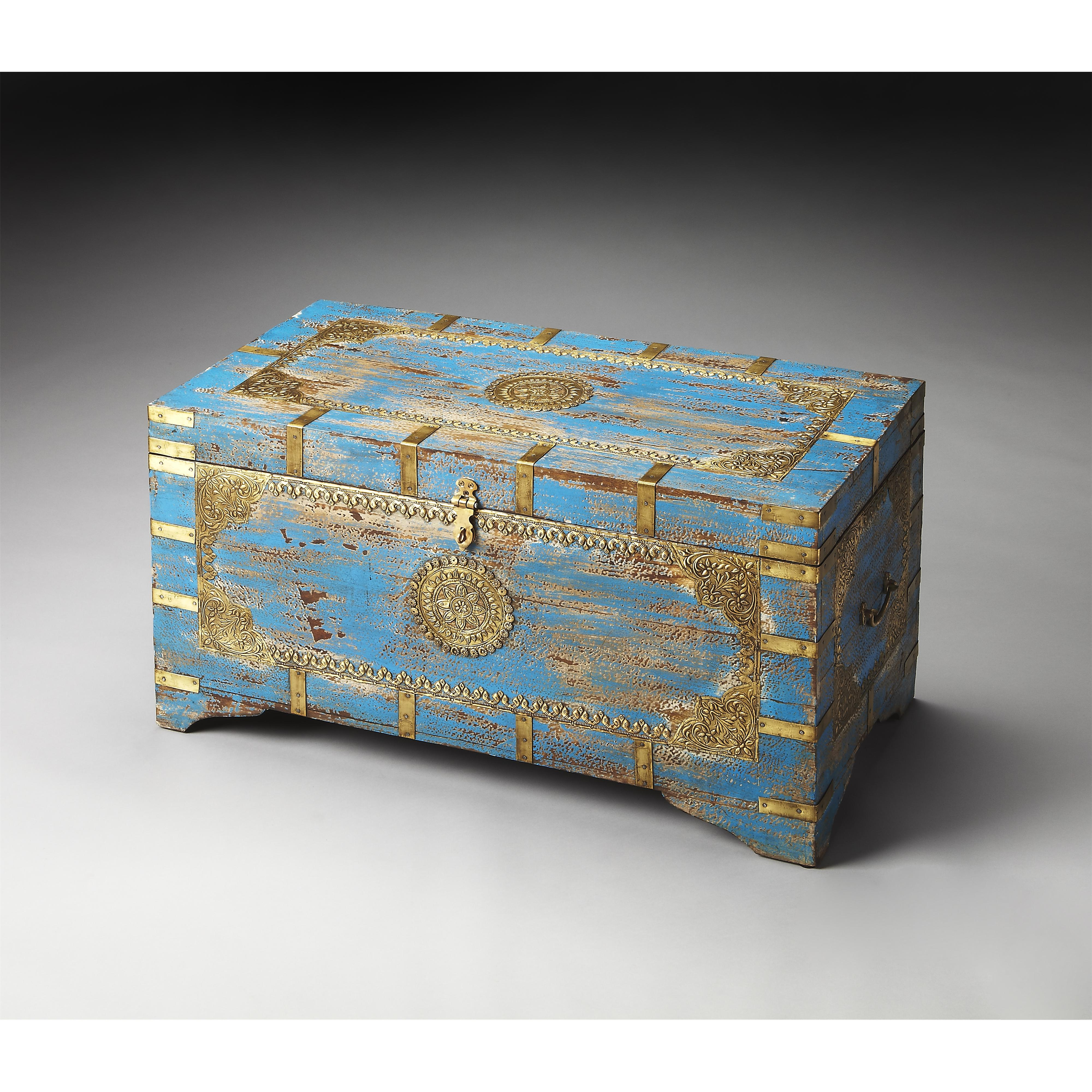 Artifacts Storage Trunk by Butler Specialty Company at Mueller Furniture