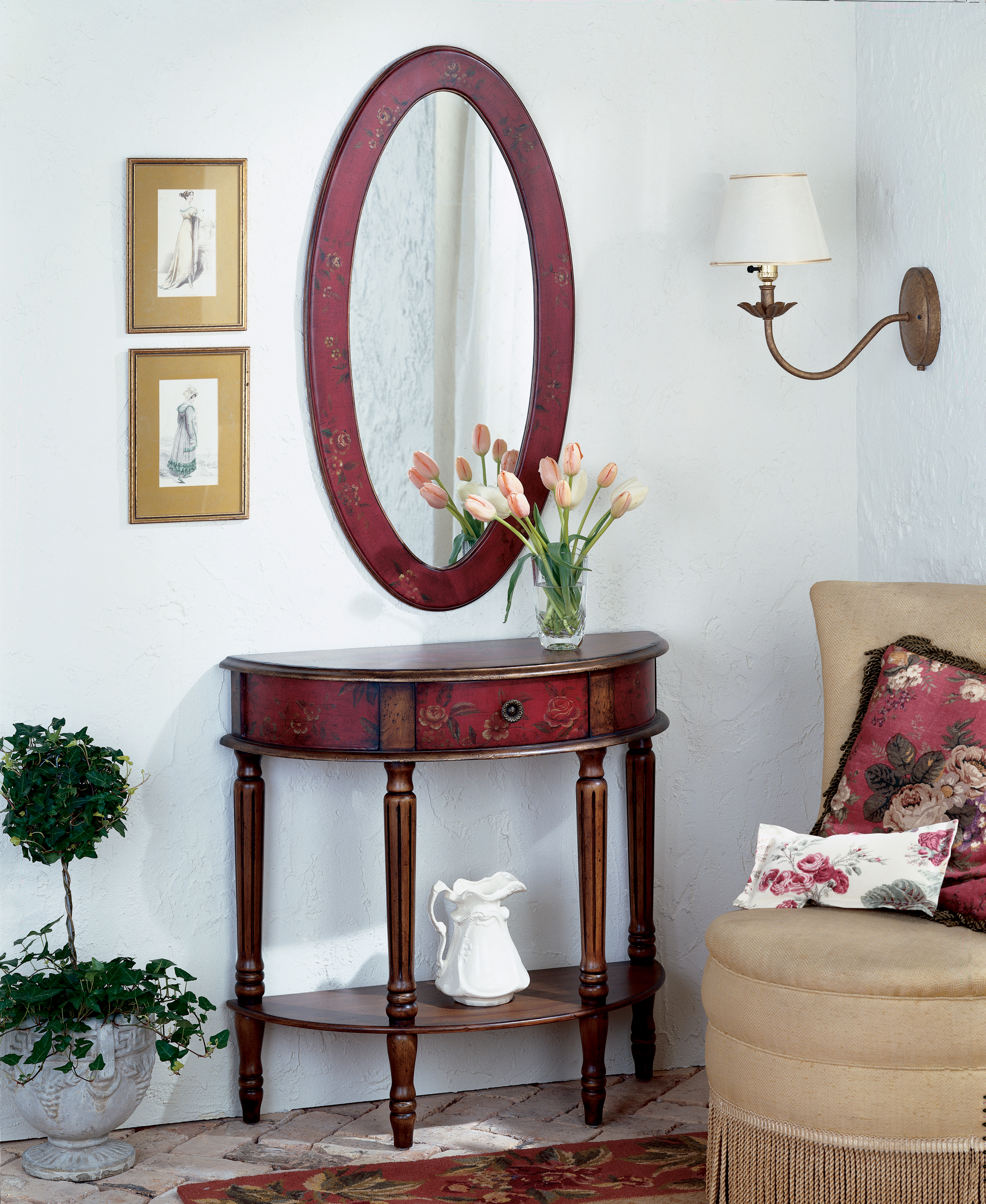 Artist's Originals Demilune Console Table by Butler Specialty Company at Mueller Furniture