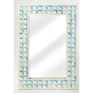 Serena Blue Wall Mirror