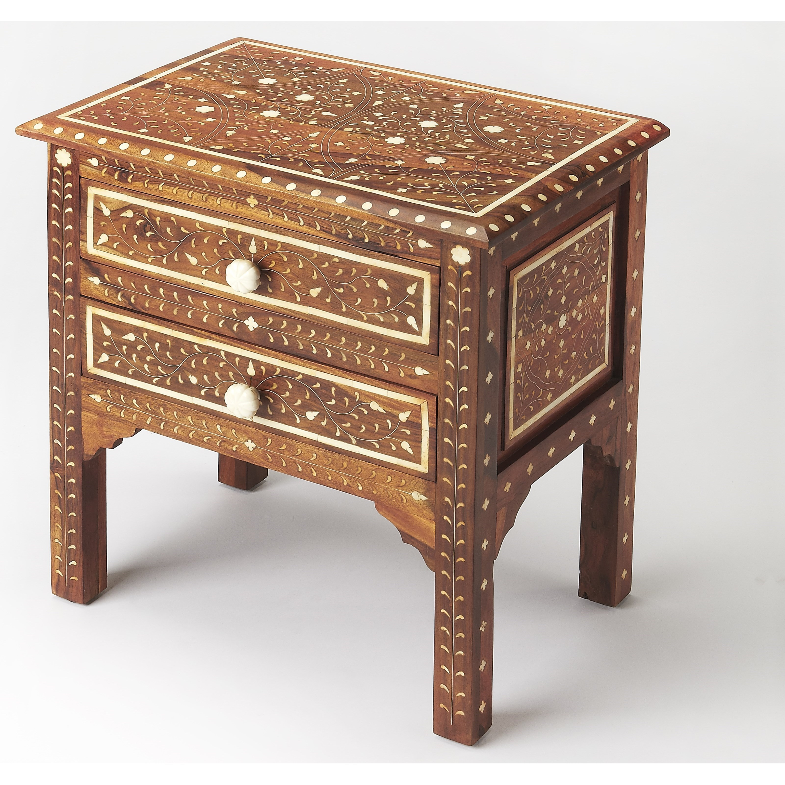 Bone Inlay Accent Chest by Butler Specialty Company at Mueller Furniture