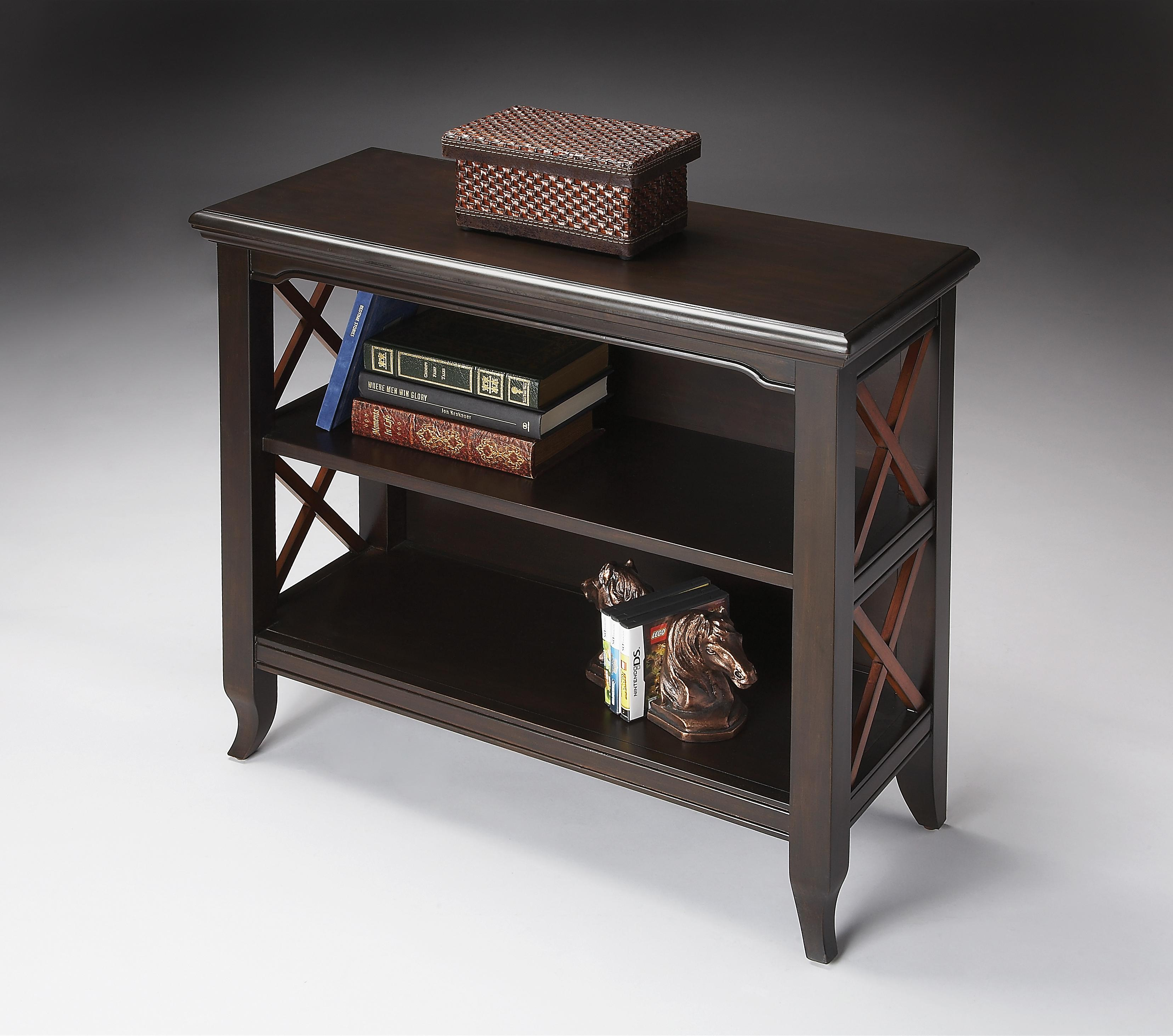 Butler Loft Low Bookcase by Butler Specialty Company at Mueller Furniture