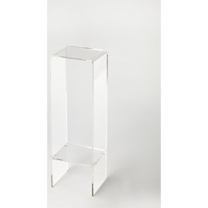 Crystal Clear Acrylic Plant Stand