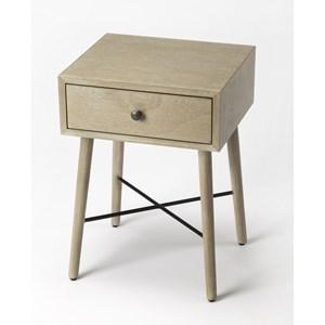 Delridge Gray End Table
