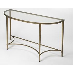 Monica Gold Demilne Console Table