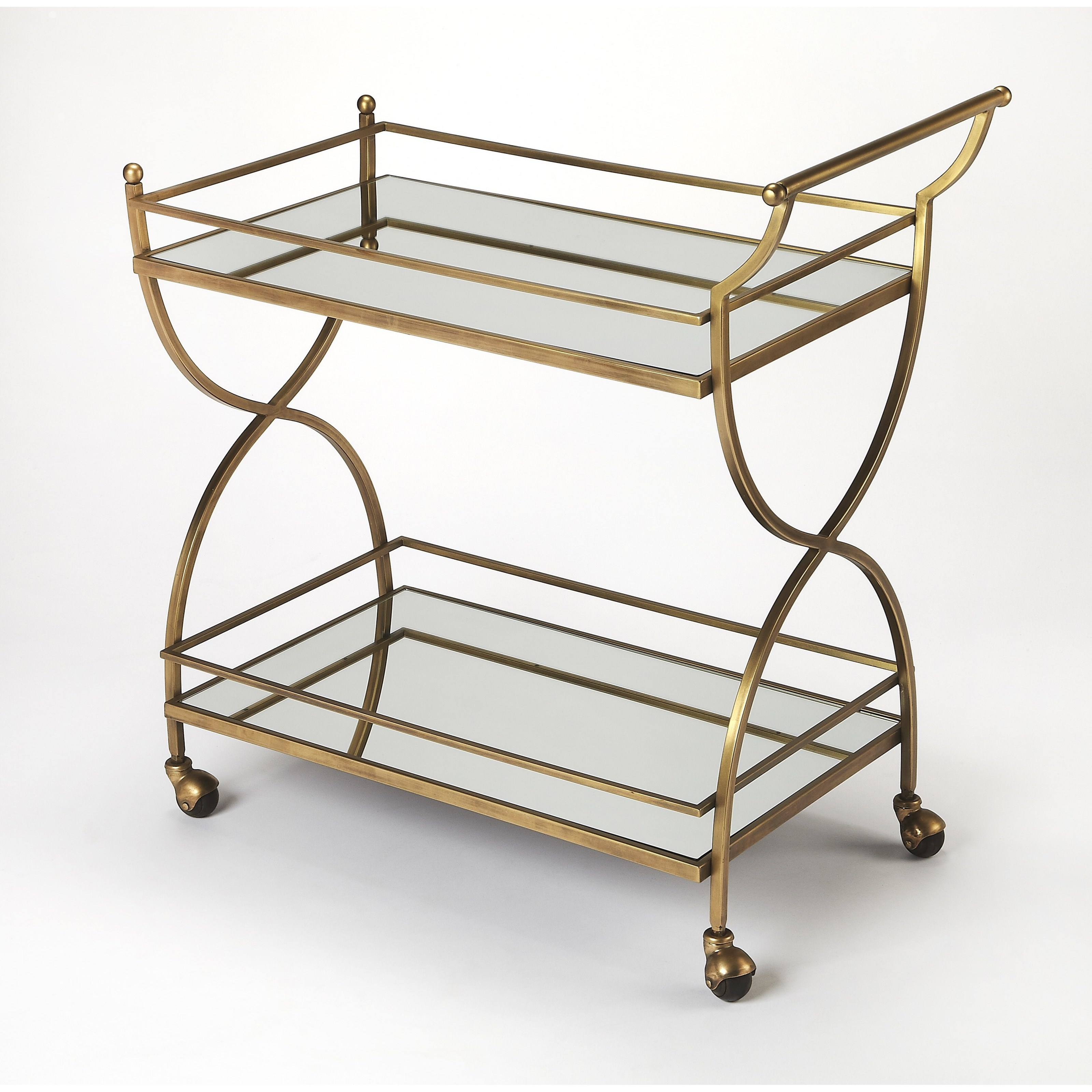 Butler Loft Bar Cart by Butler Specialty Company at Mueller Furniture