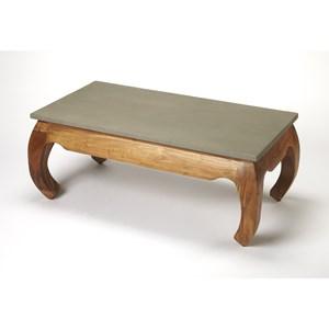 Chandu Concrete & Wood Coffee Table