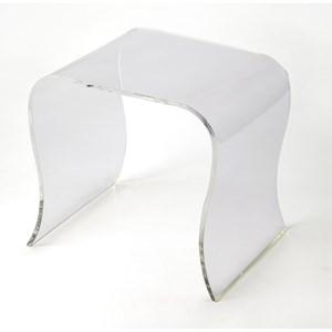 Sashay Clear Acrylic End Table