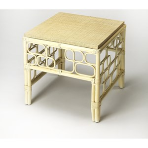Althea Rattan End Table
