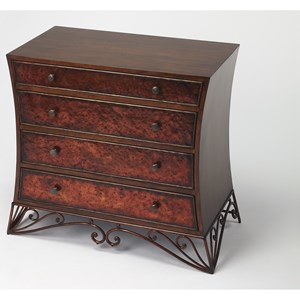Nicola Copper Console Chest