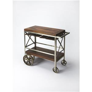 Butler Specialty Company Industrial Chic Trolley Server