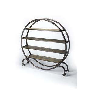 Butler Specialty Company Industrial Chic Display Bookcase