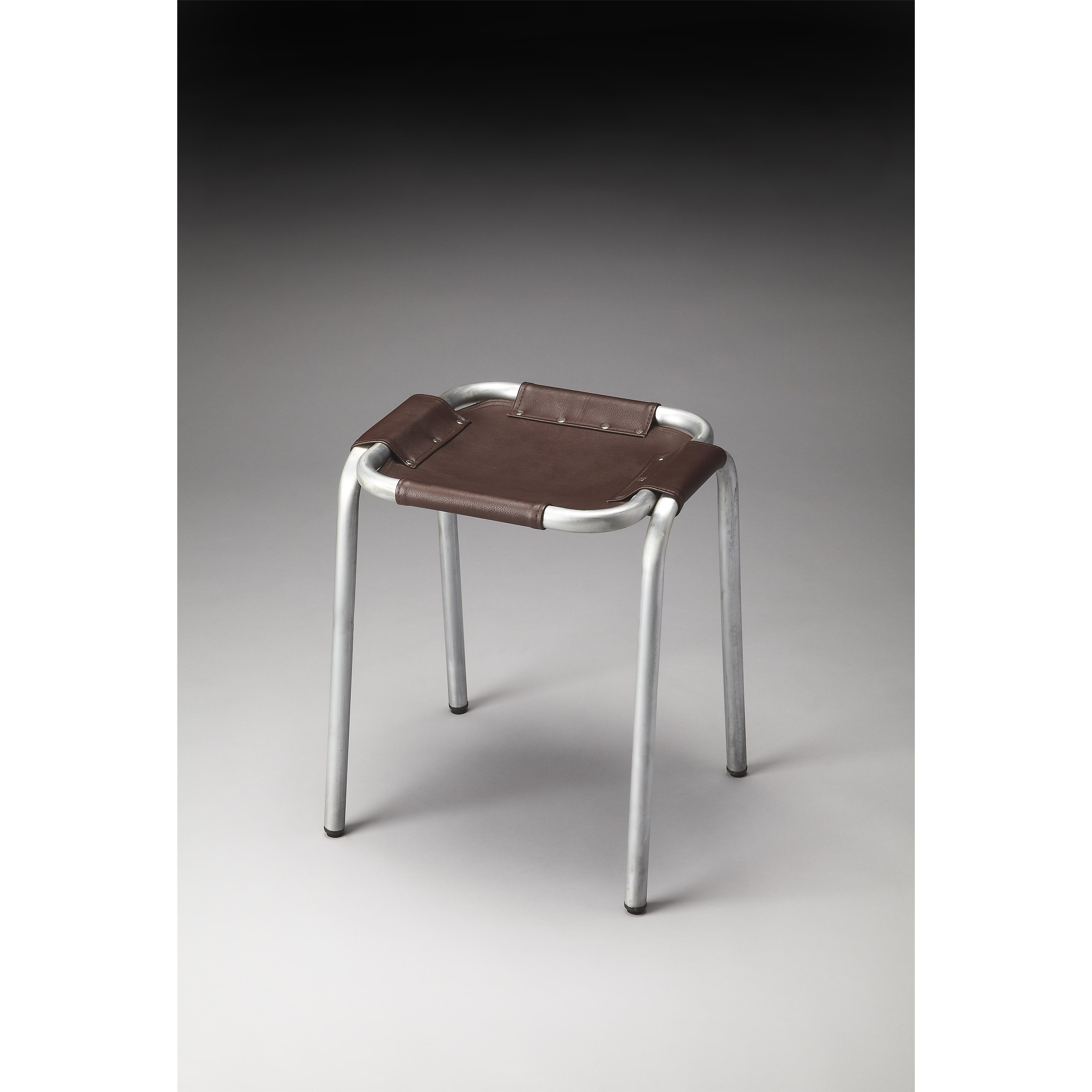 Industrial Chic Stool by Butler Specialty Company at Mueller Furniture