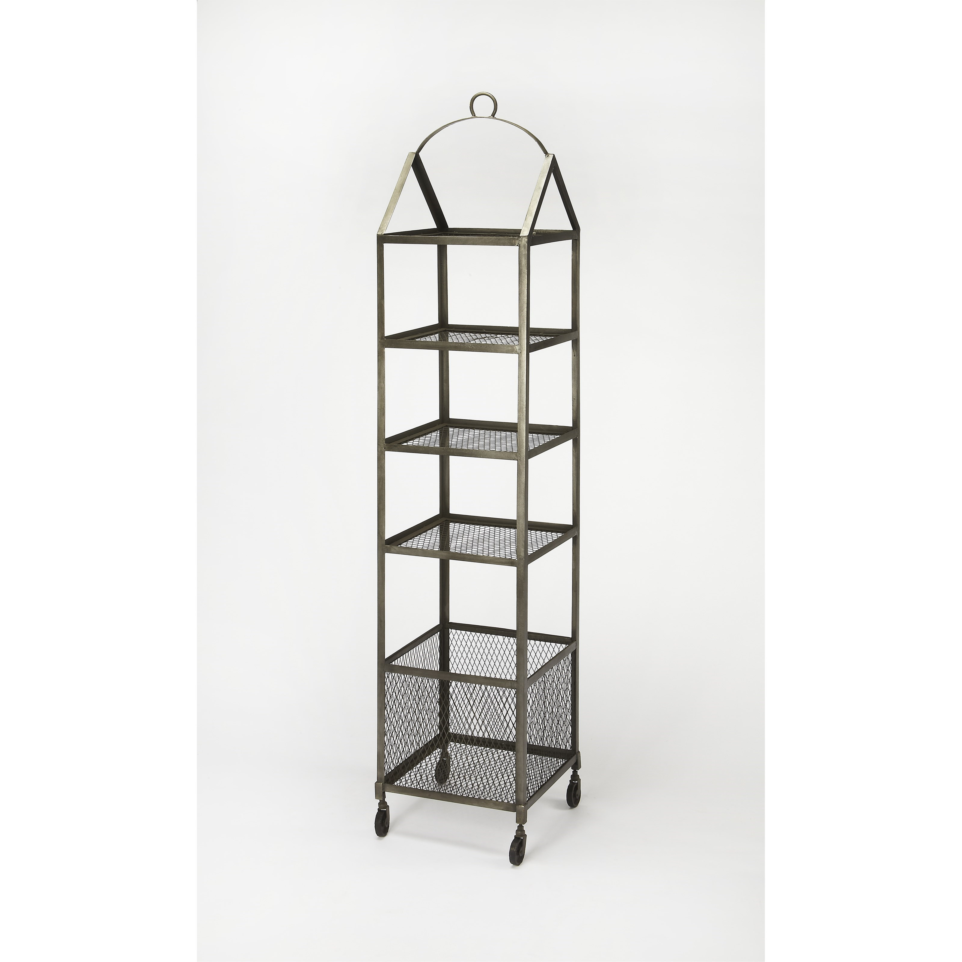 Industrial Chic Etagere by Butler Specialty Company at Mueller Furniture