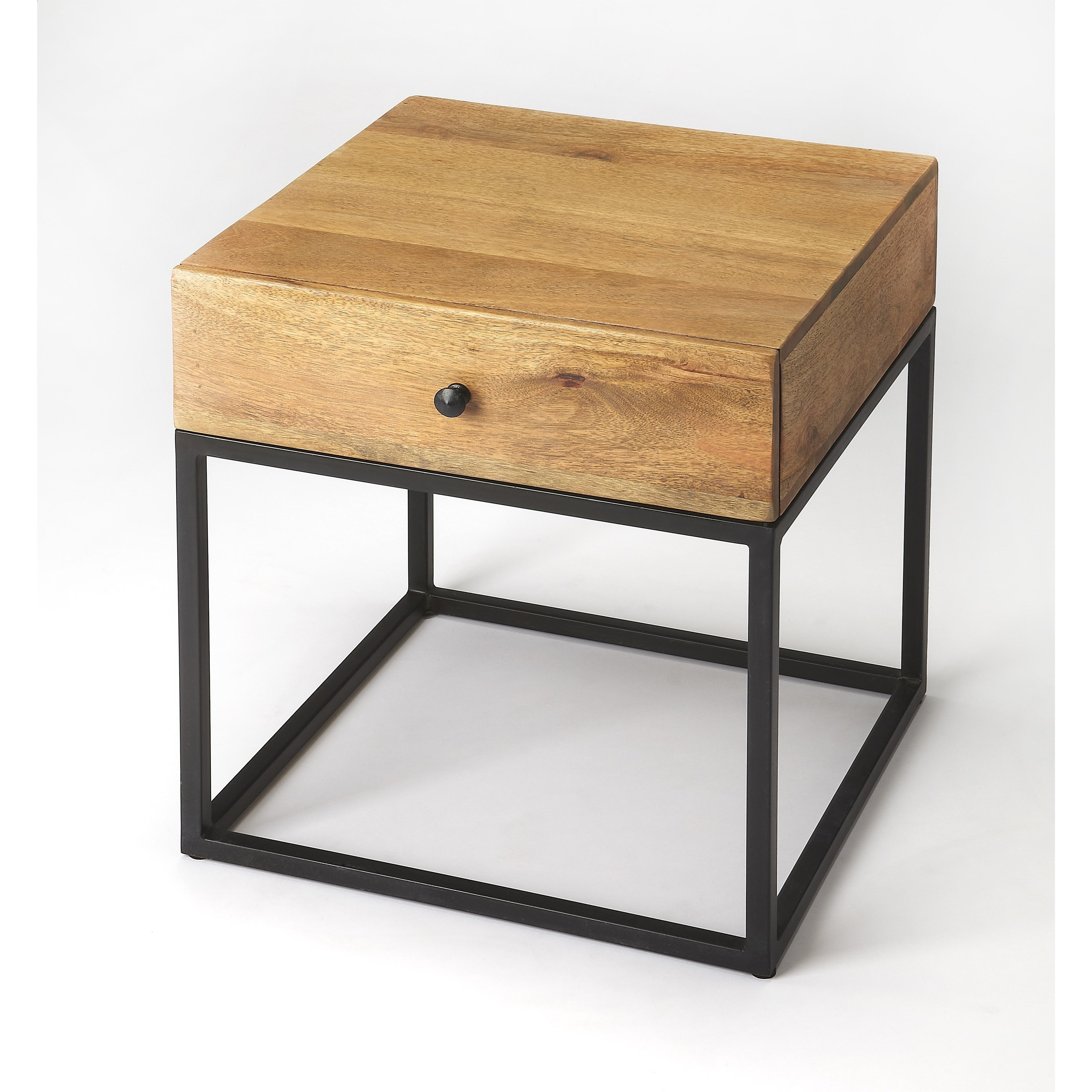 Industrial Chic End Table by Butler Specialty Company at Jacksonville Furniture Mart