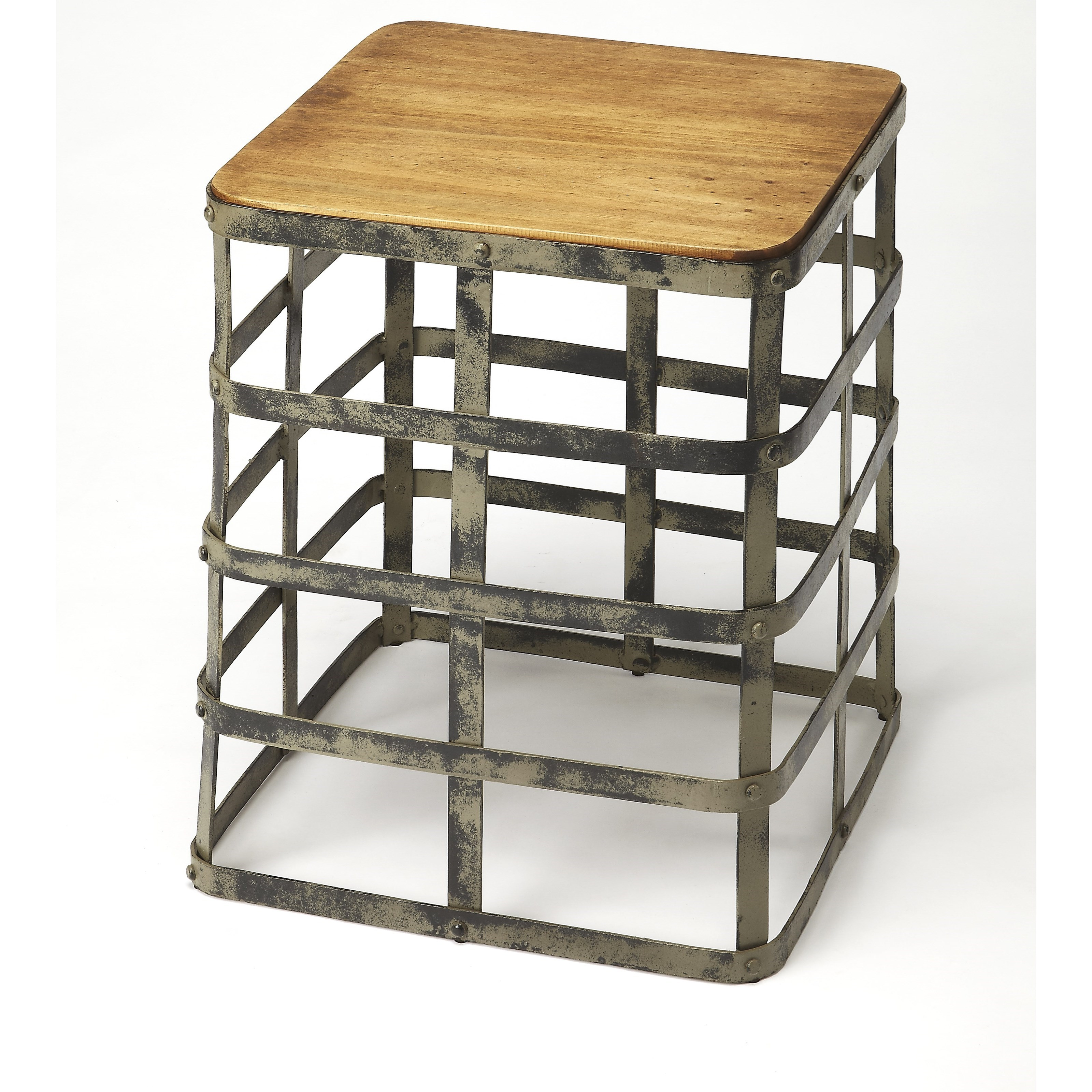 Industrial Chic End Table by Butler Specialty Company at Mueller Furniture