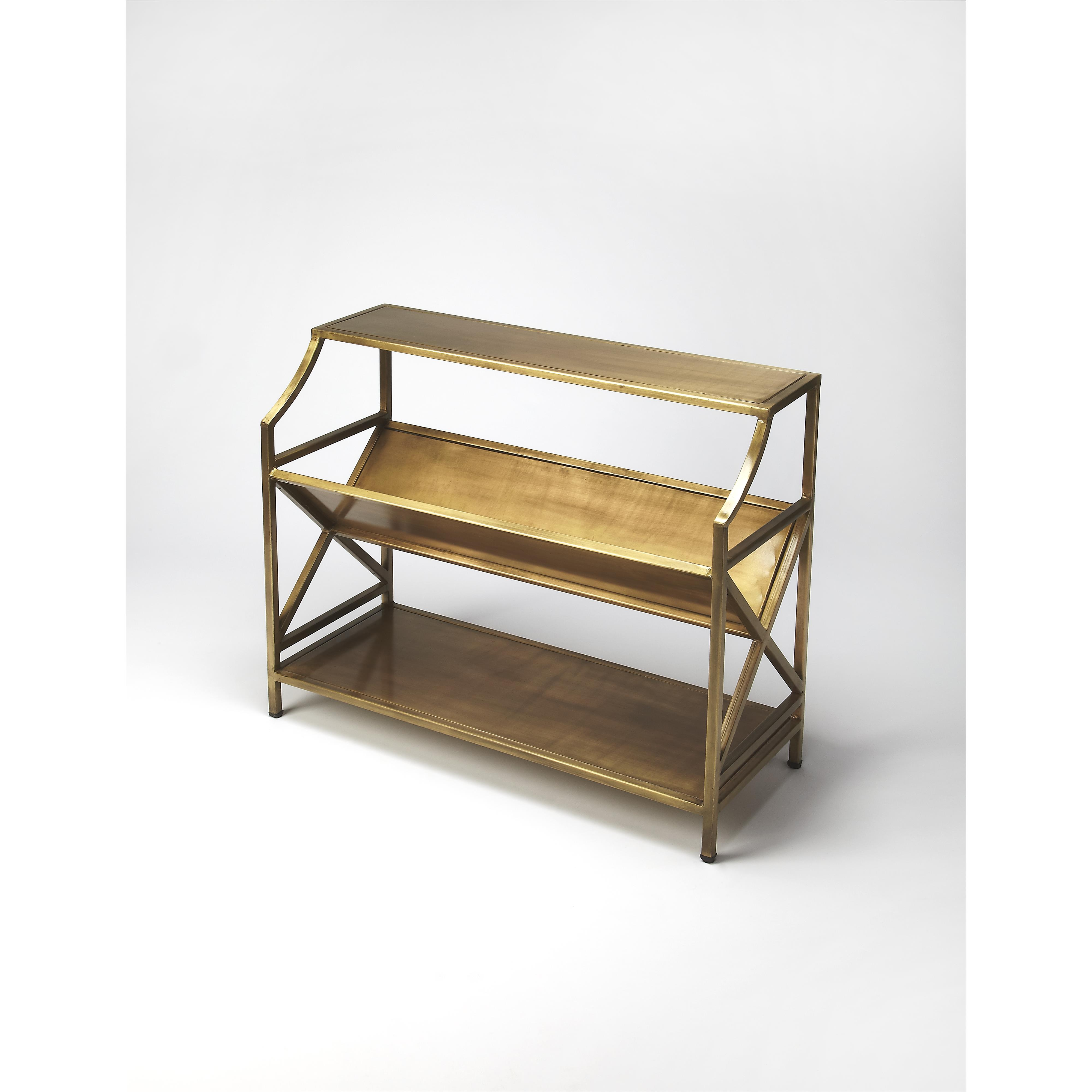 Industrial Chic Librarie Bookcase by Butler Specialty Company at Mueller Furniture