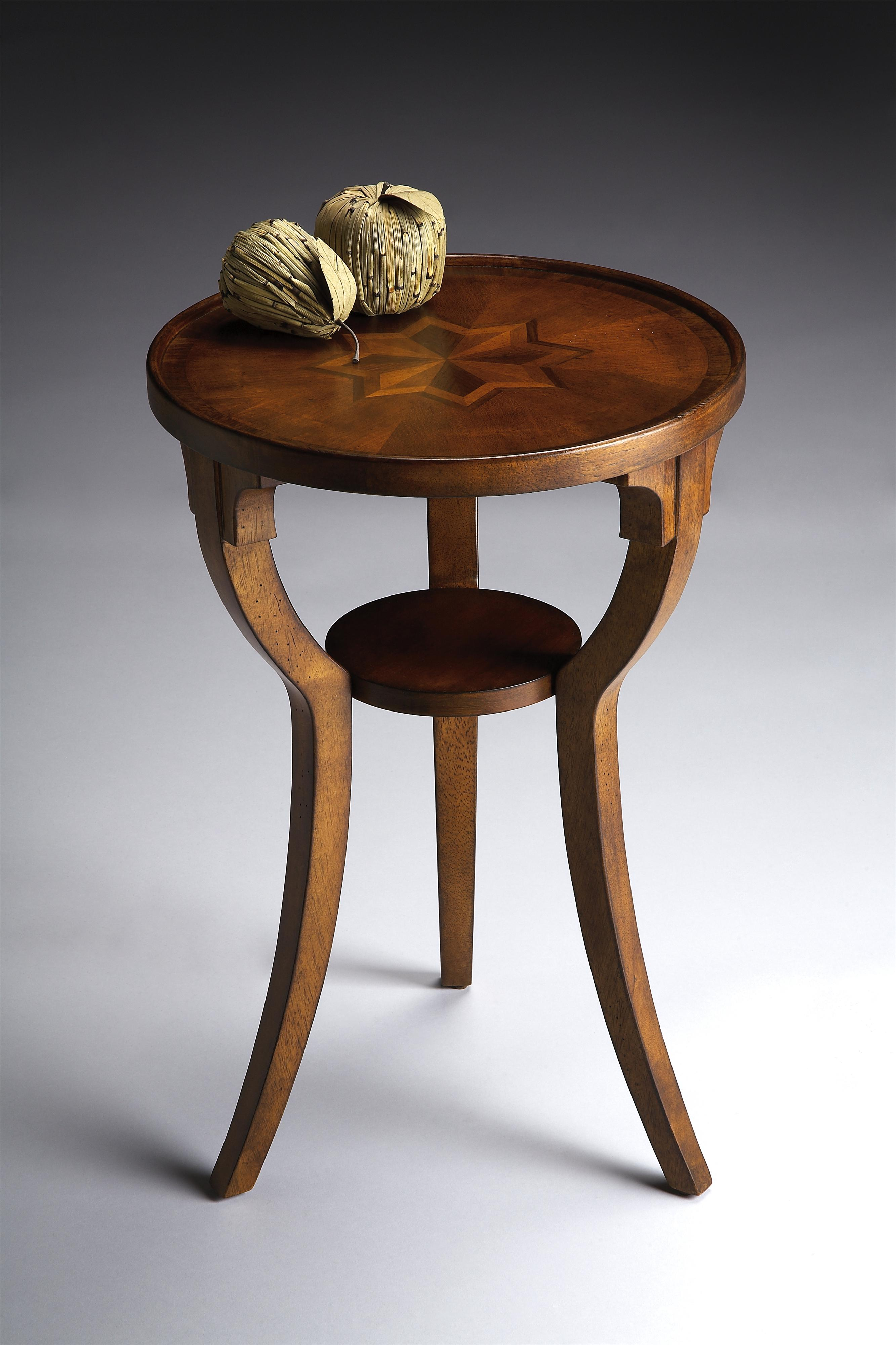 Masterpiece  Round Accent Table by Butler Specialty Company at Mueller Furniture