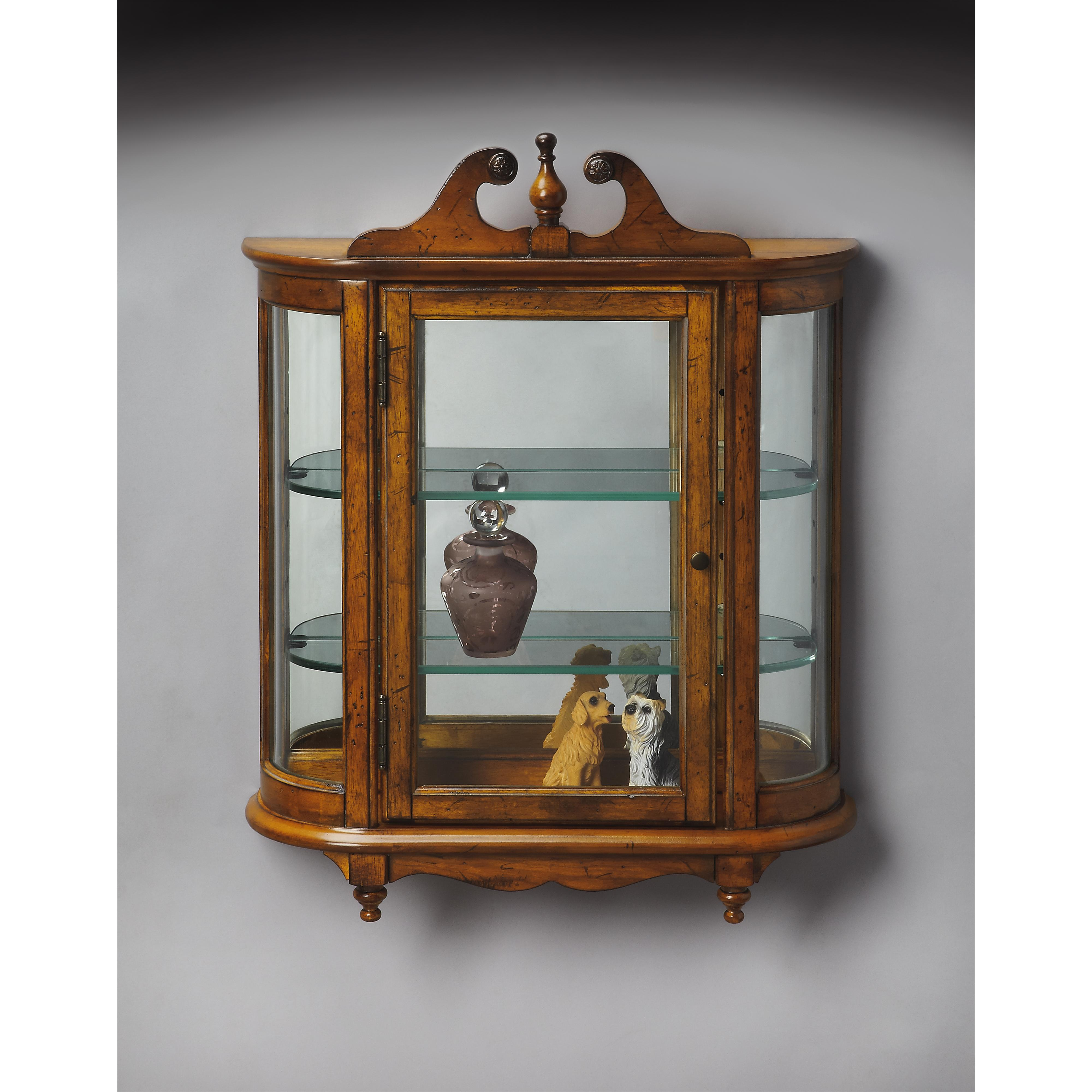 Masterpiece  Wall Curio by Butler Specialty Company at Mueller Furniture