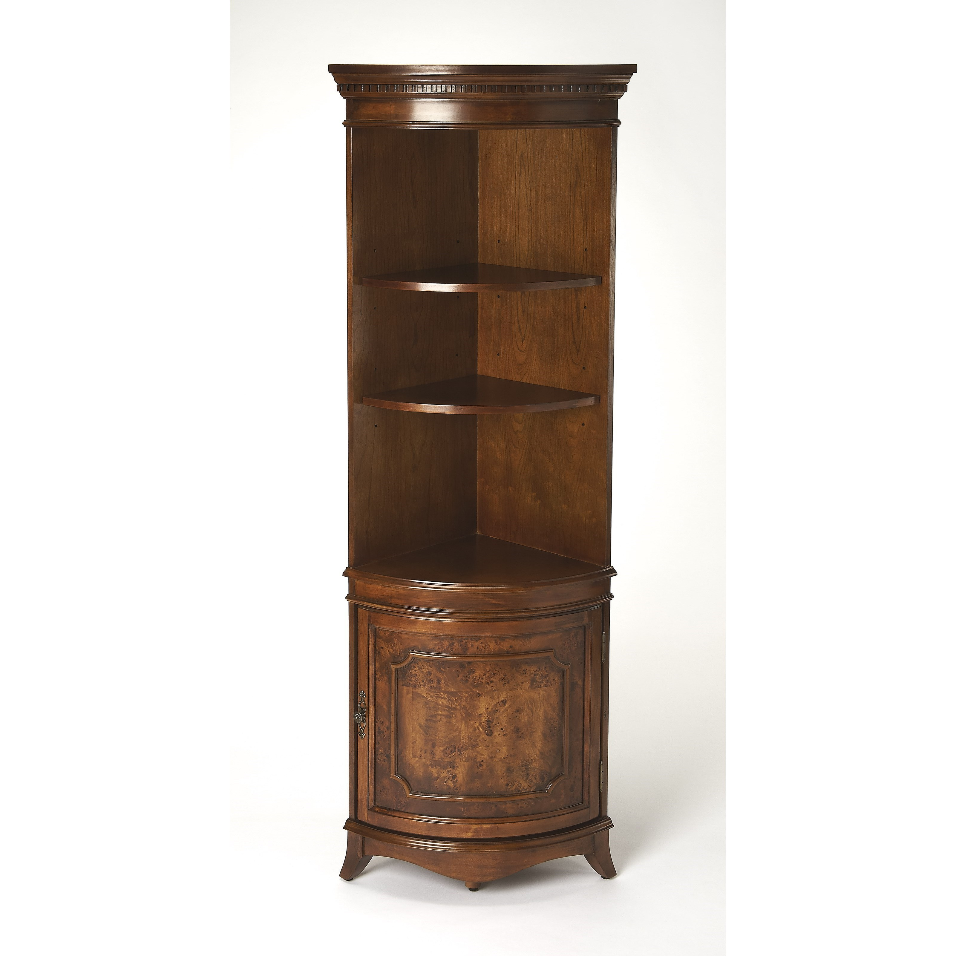Masterpiece  Corner Cabinet by Butler Specialty Company at Mueller Furniture