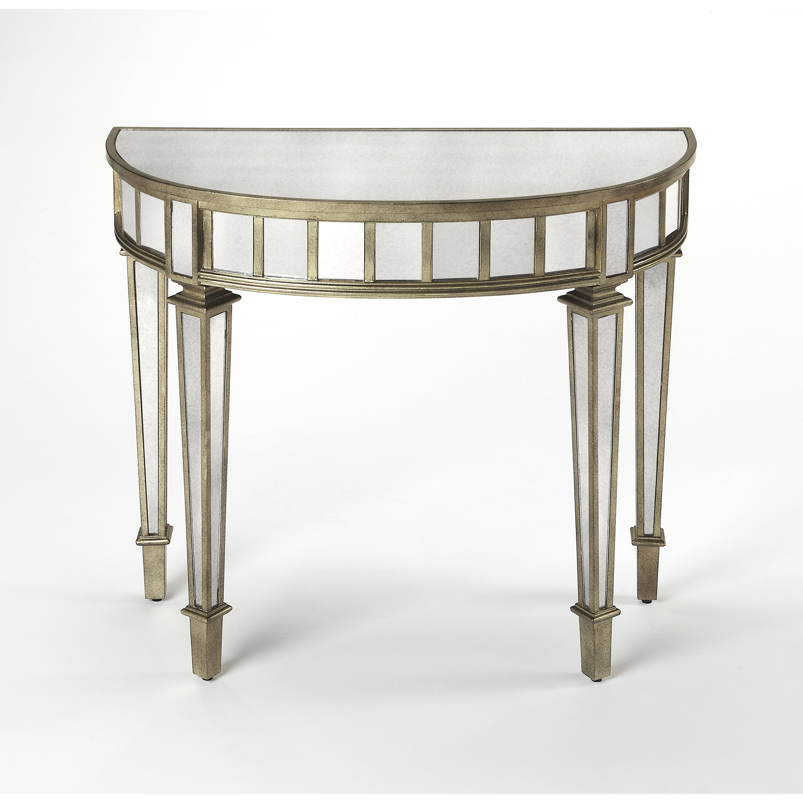 Masterpiece  Demilune Console Table by Butler Specialty Company at Mueller Furniture
