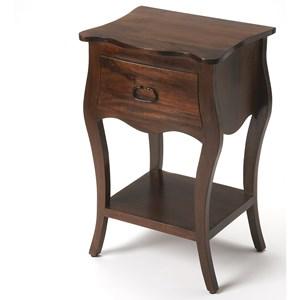 Rochelle Antique Walnut Nightstand