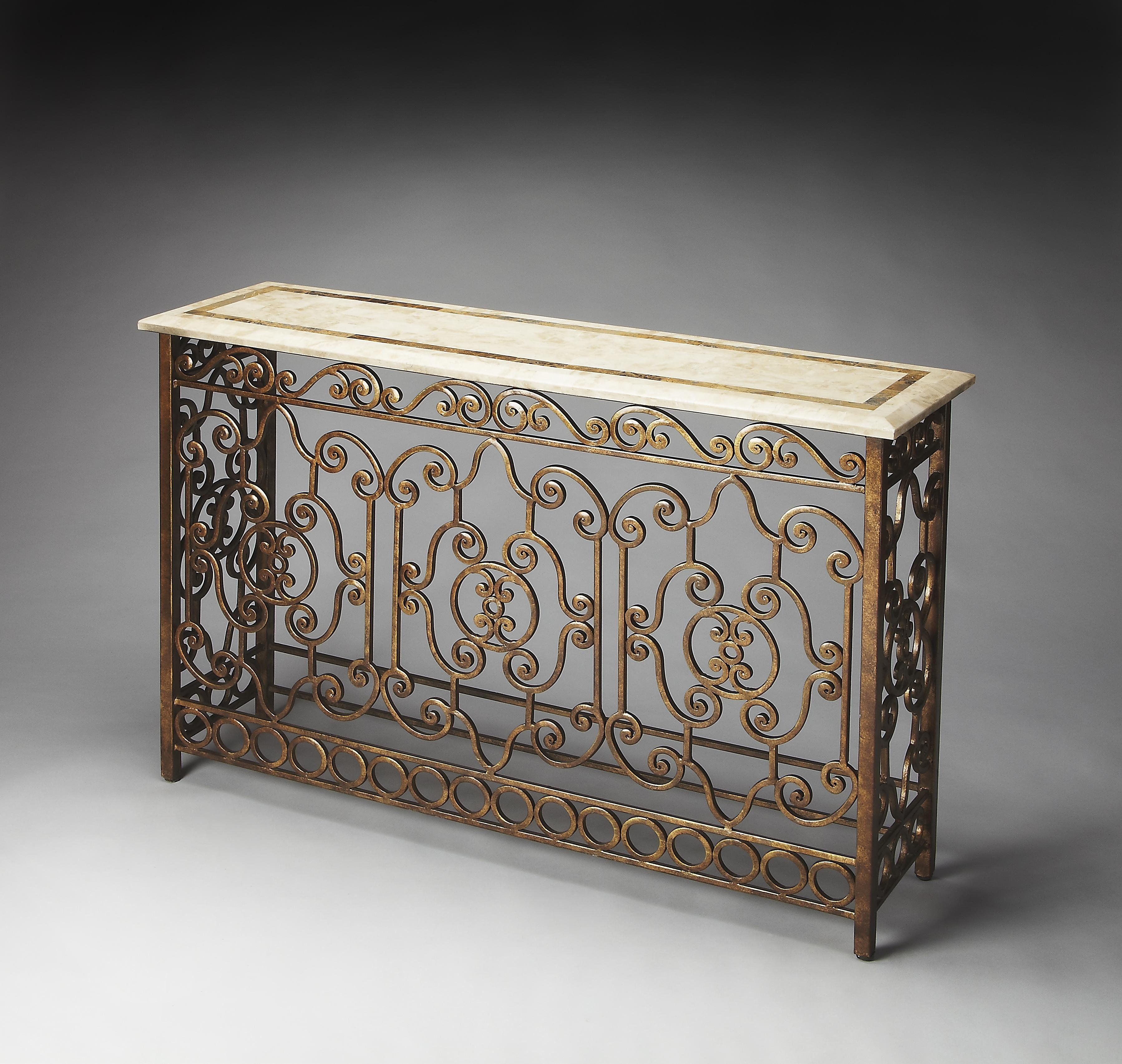 Metalworks Console Table by Butler Specialty Company at Mueller Furniture