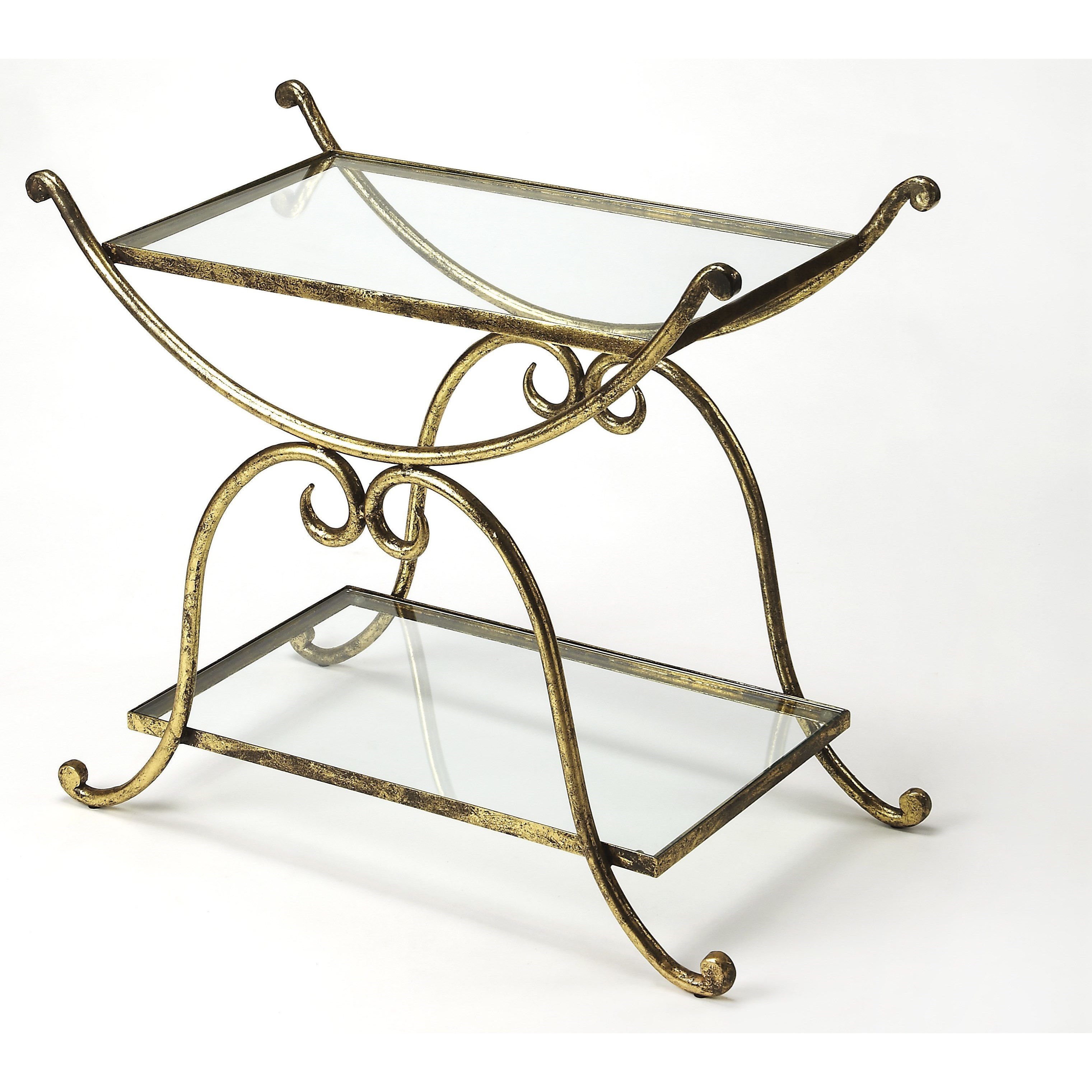 Metalworks Serving Table by Butler Specialty Company at Mueller Furniture