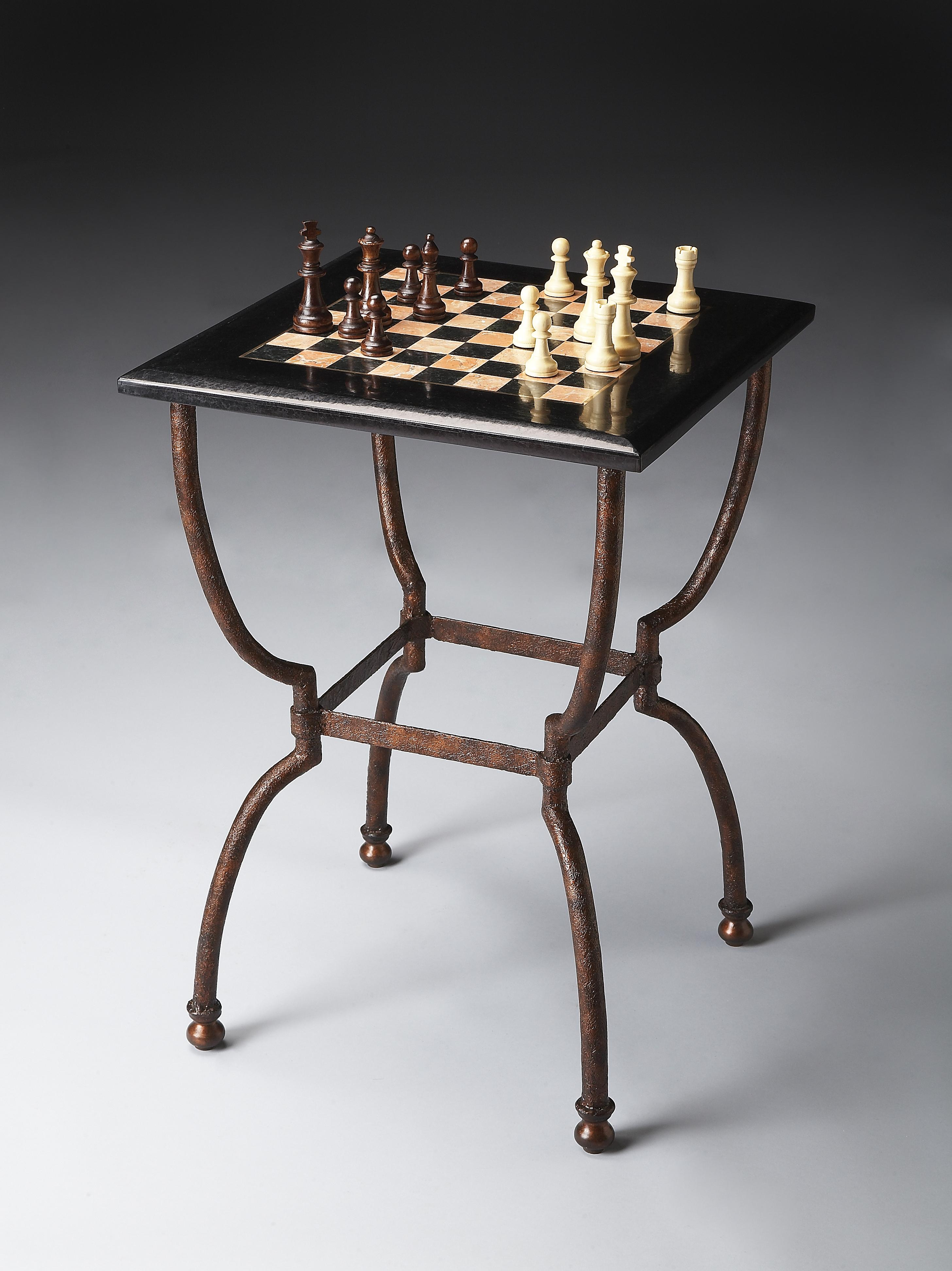 Metalworks Game Table by Butler Specialty Company at Mueller Furniture