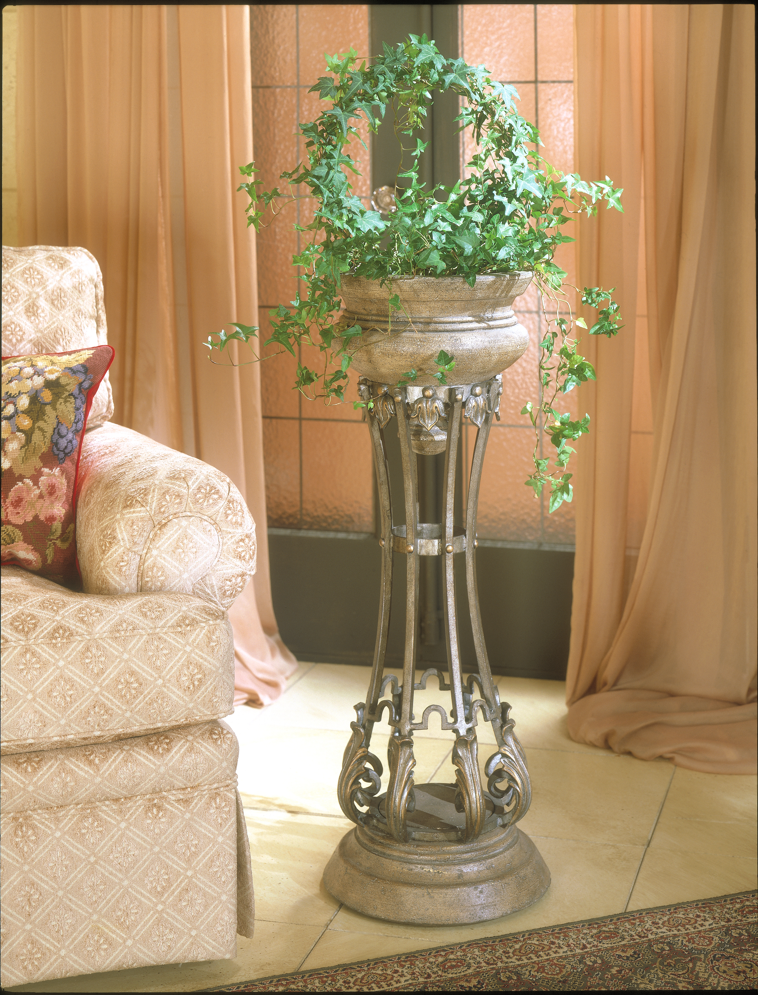 Metalworks Jardiniere by Butler Specialty Company at Mueller Furniture