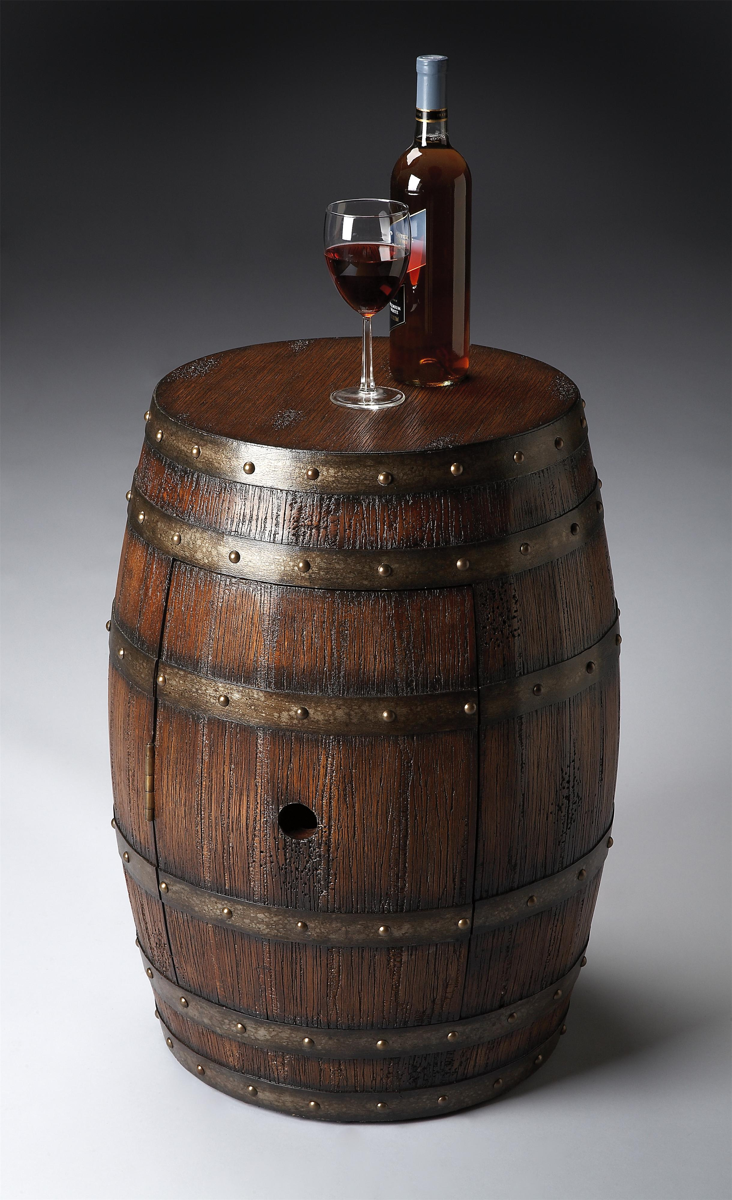 Mountain Lodge Barrel Table by Butler Specialty Company at Mueller Furniture