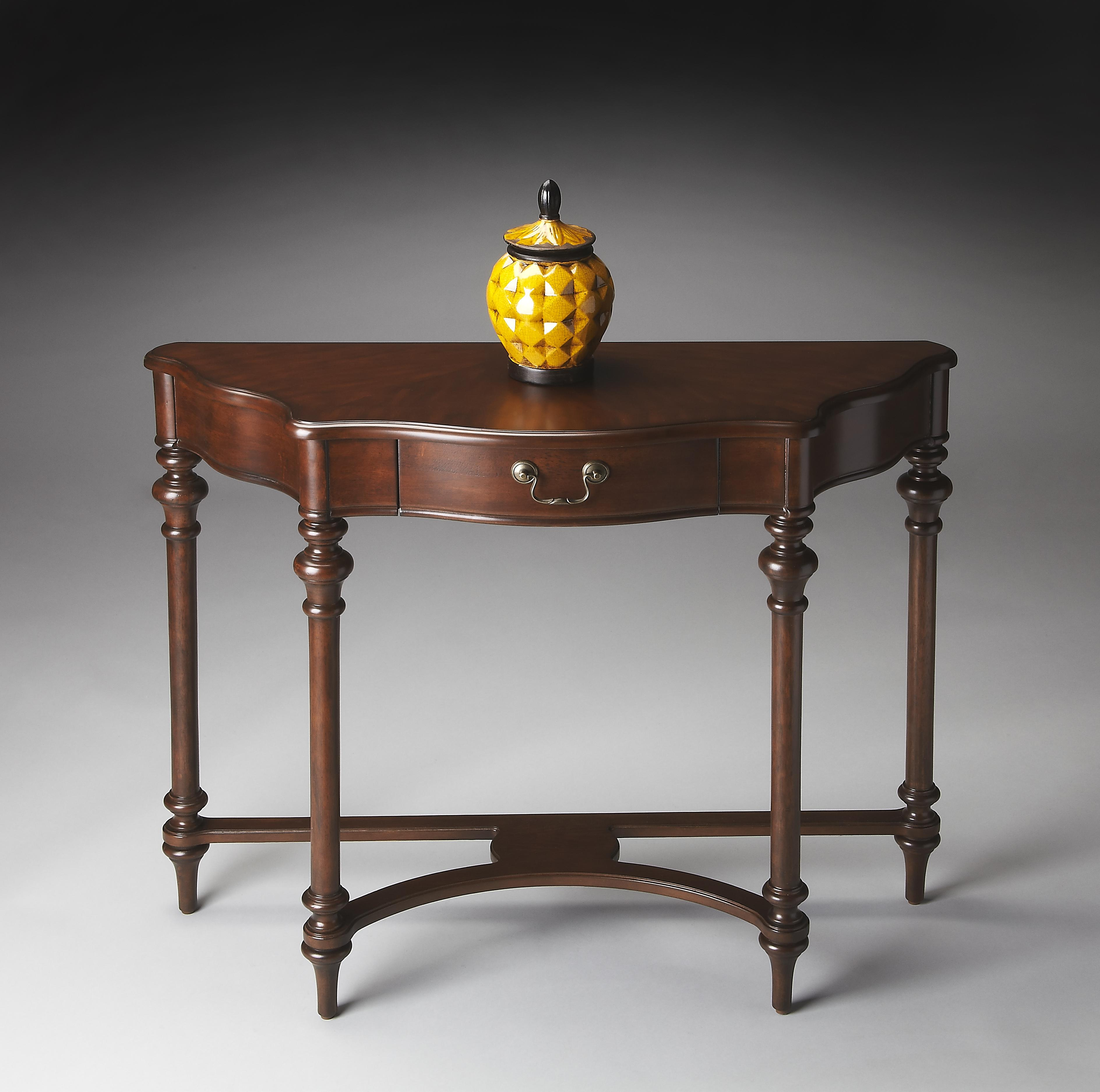 Plantation Cherry Console Table by Butler Specialty Company at Mueller Furniture