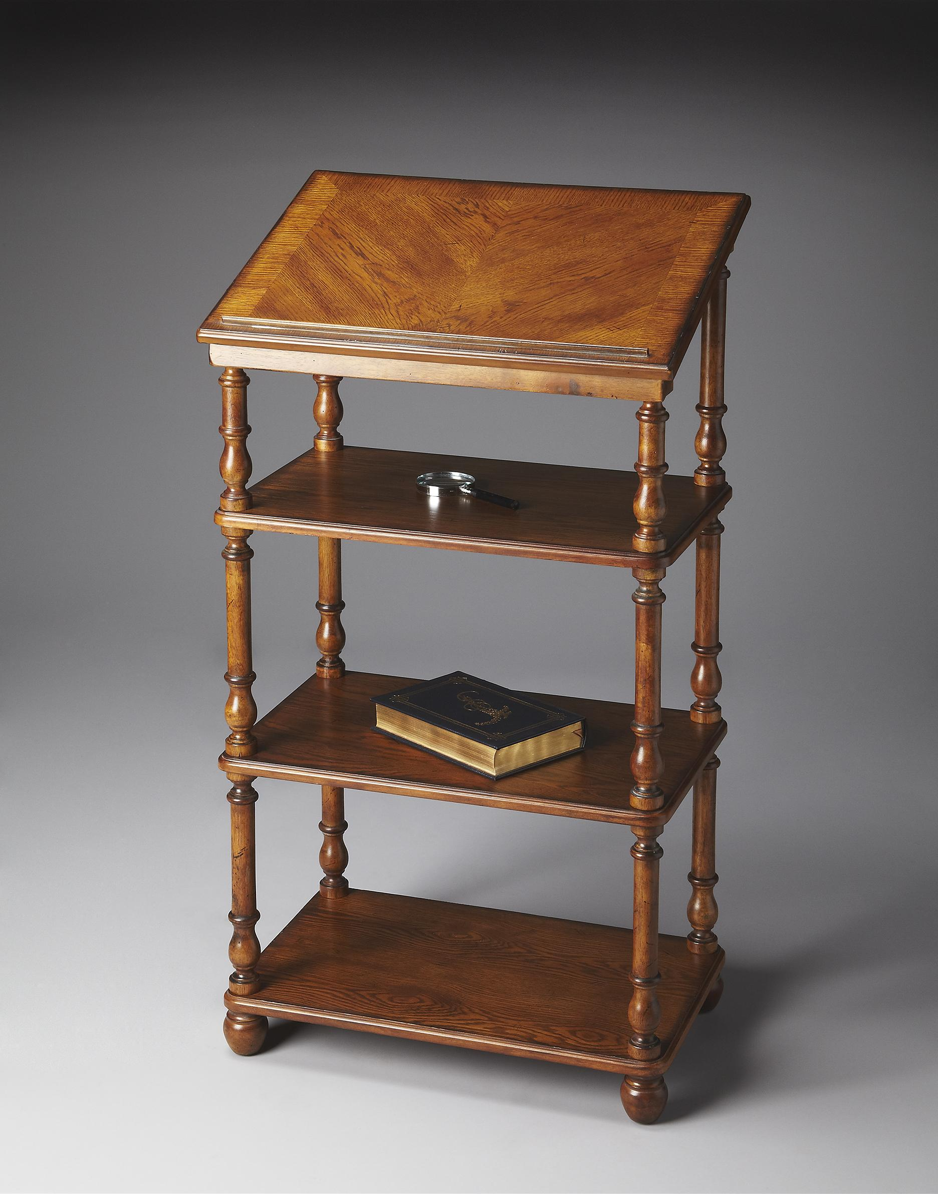Plantation Cherry Library Stand by Butler Specialty Company at Mueller Furniture
