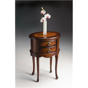 Butler Specialty Company Plantation Cherry Oval Side Table