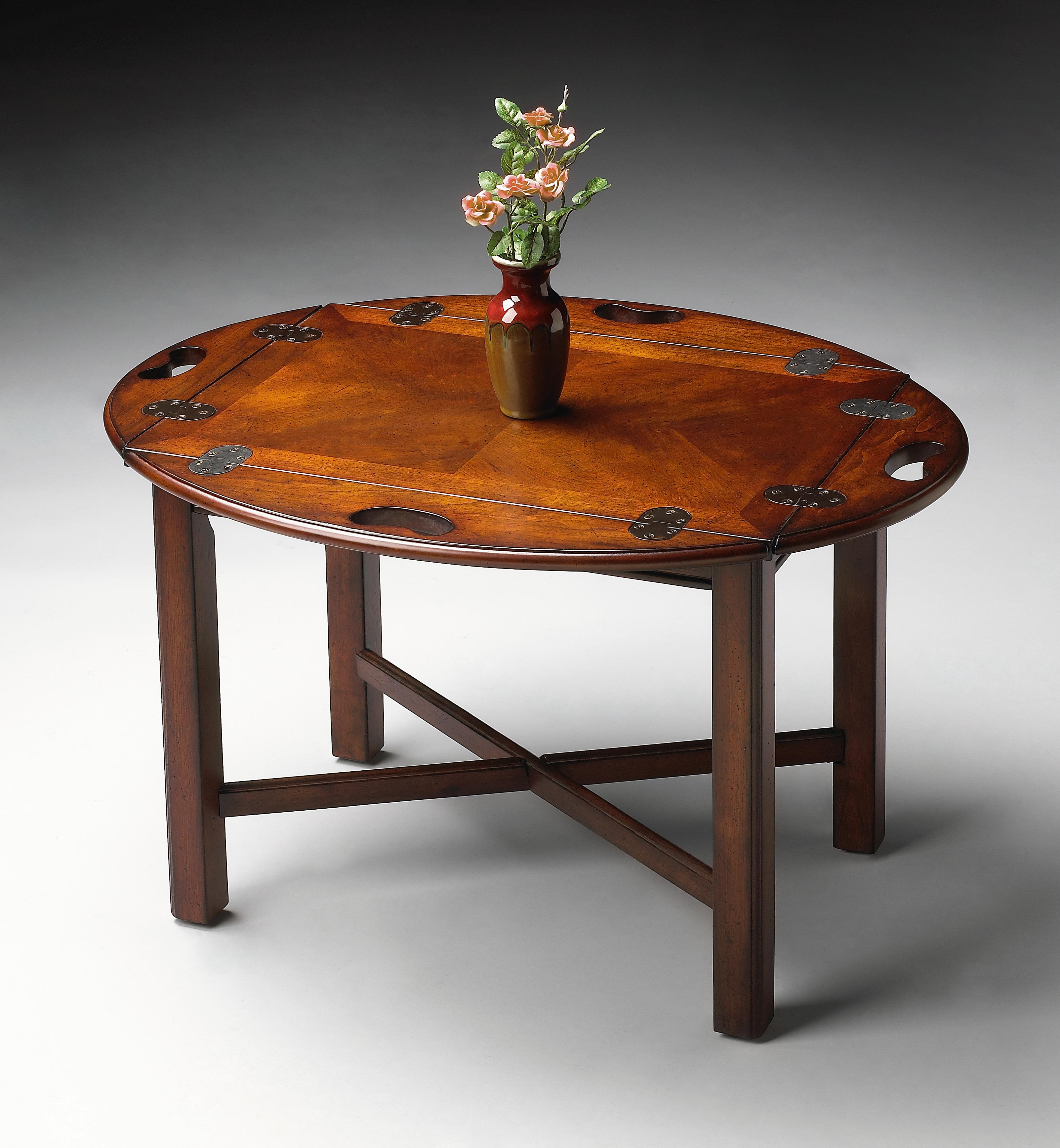 Plantation Cherry Butler Table by Butler Specialty Company at Mueller Furniture
