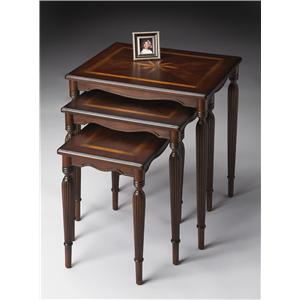 Butler Specialty Company Plantation Cherry Nest Of Tables