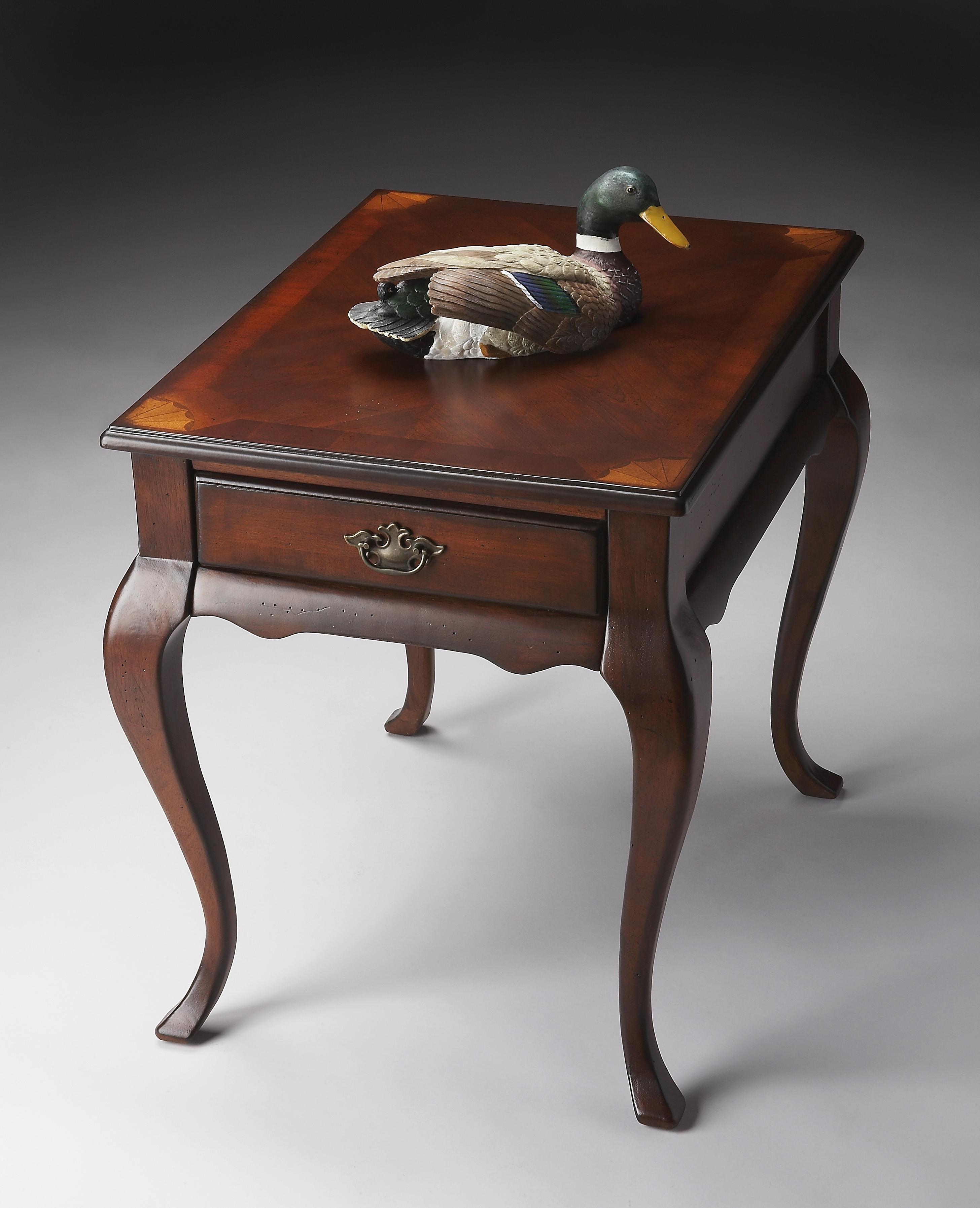 Plantation Cherry End Table by Butler Specialty Company at Mueller Furniture