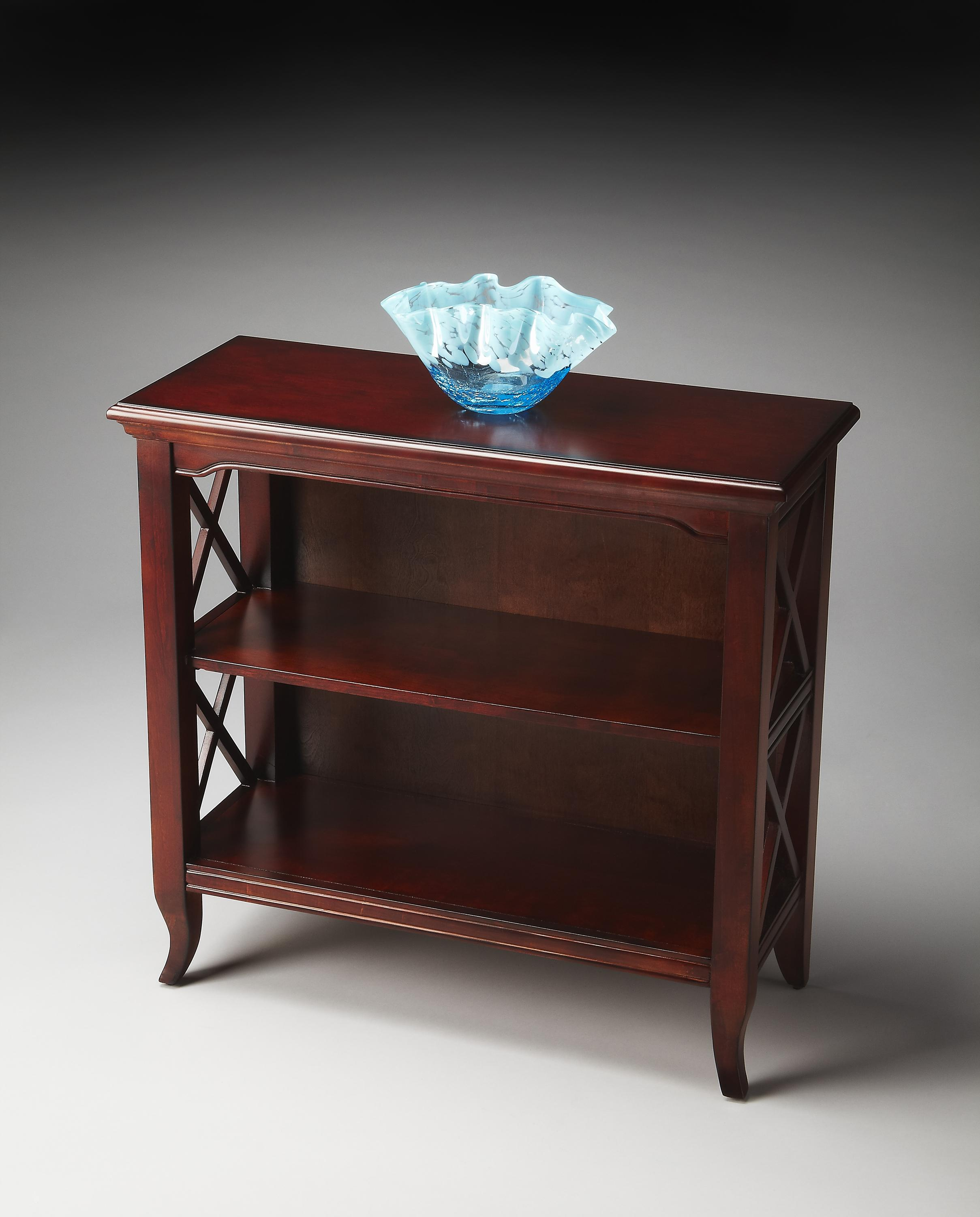 Plantation Cherry Low Bookcase by Butler Specialty Company at Mueller Furniture
