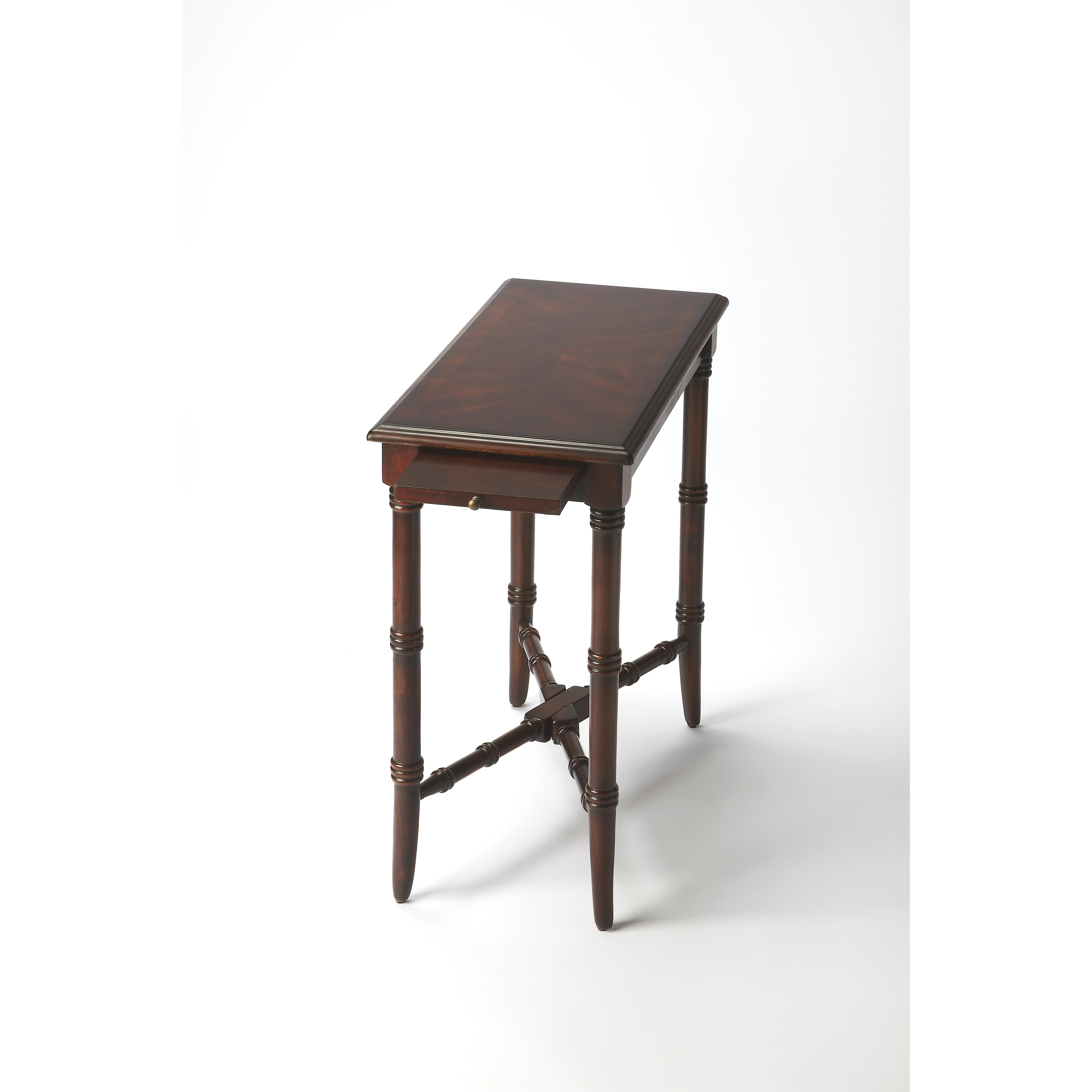 Plantation Cherry Chairside Table by Butler Specialty Company at Mueller Furniture