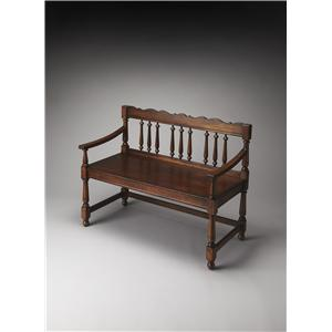 Butler Specialty Company Plantation Cherry Bench
