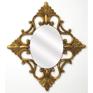 Calais Gold Wall Mirror