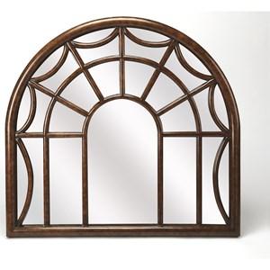 Georgia Arched Window Pane Wall Mirror