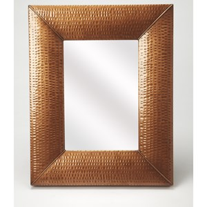 Lehigh Hammered Copper Wall Mirror