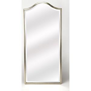 Carmine Silver Wall Mirror