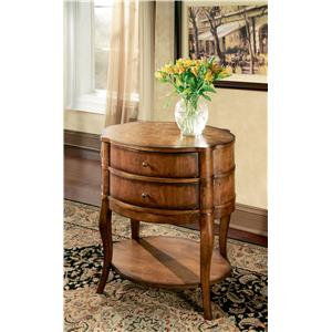 Jarvis Umber Oval Side Table