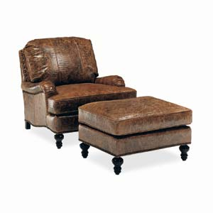 C.R. Laine Dunmore Dunmore Chair and Ottoman