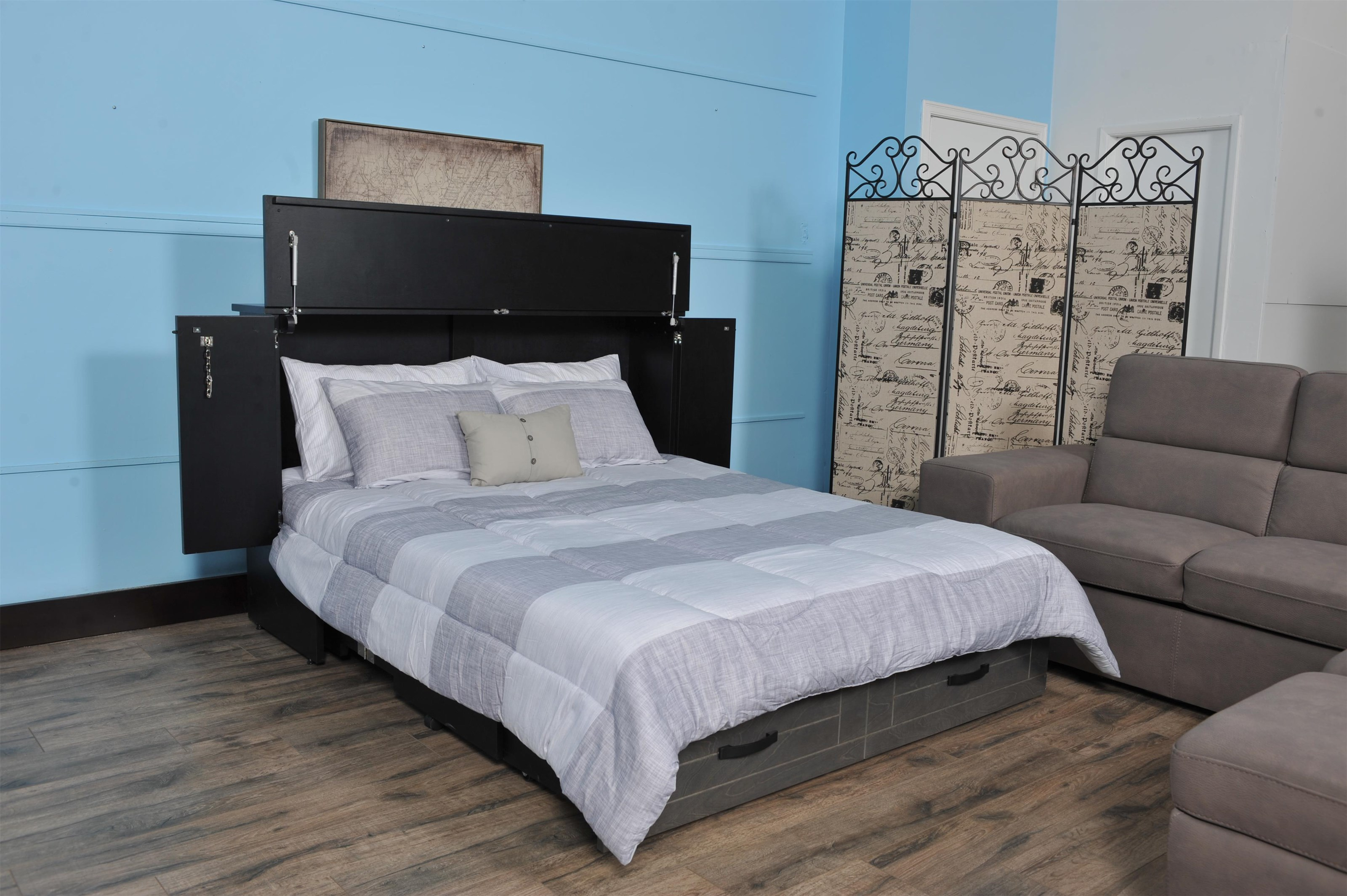 Aztec Full Aztec Premium Cabinet Bed by CabinetBed at Rife's Home Furniture