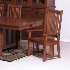 Cal Oak Fremont Hills Arm Chair